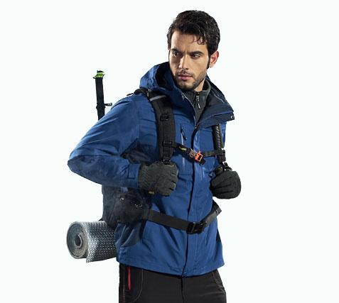 泰森狼冲锋衣男女三合一两件套加绒保暖
