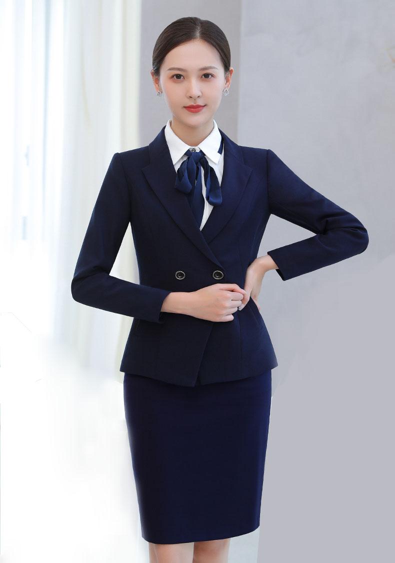 郑州团体西服定制女士职业装西服