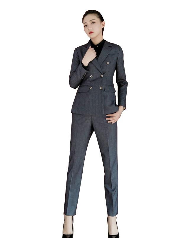 郑州团体西服定制女士职业装西服套装